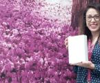 Mª Estrella Jiménez Trigos flamante ganadora de nuestro iPad mini