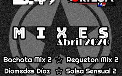 Pack de Mixes By Dj Mix (Abril)