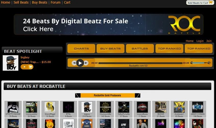 online hip hop beats for sale