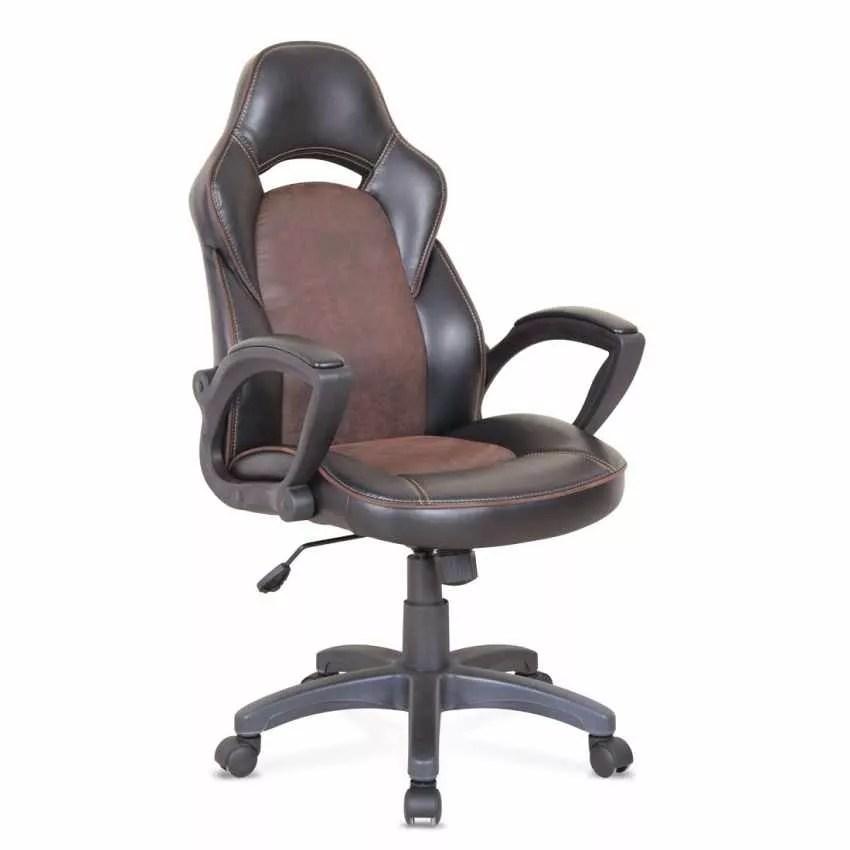 Fateuil De Bureau Ergonomique En Similicuir Sport Chaise