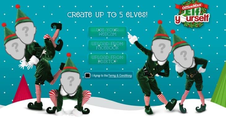 Elf Yourself App Provides Christmas Dances Product