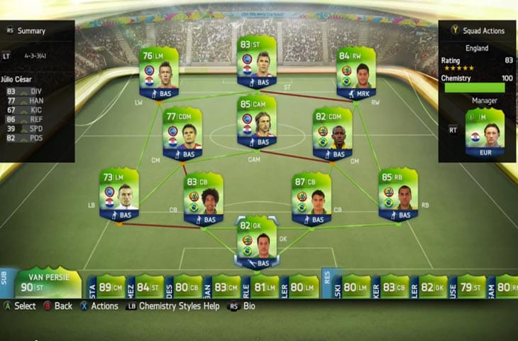 Bayerns Mandzukic With Barcelonas Alves In Hybrid FIFA