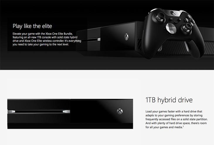 Xbox One Elite Console UK Vs US Release Date Product