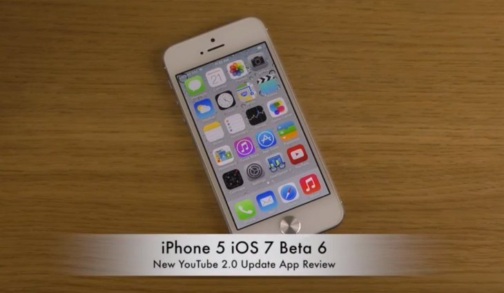 YouTube App Update On IPhone 5 With IOS 7 Product Reviews Net