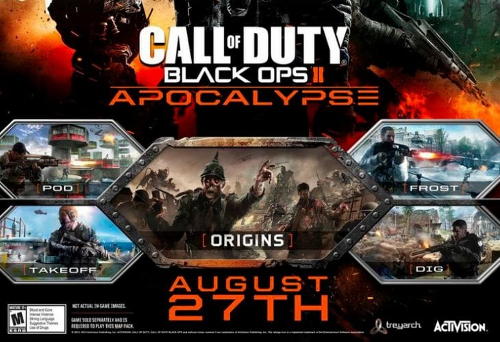 Black Ops 2 Origins Zombies Gameplay Release Time