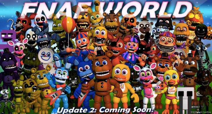 FNaF World Update 2 Release Date Excitement Product