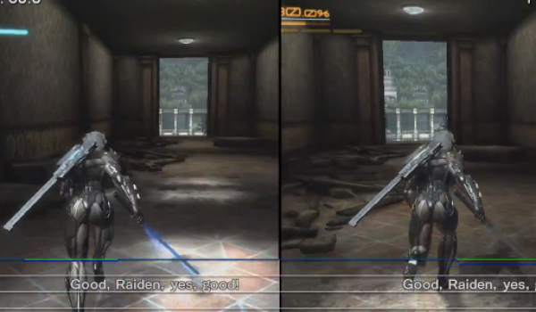 Metal Gear Rising Xbox 360 Vs PS3 Graphics Duel Product Reviews Net