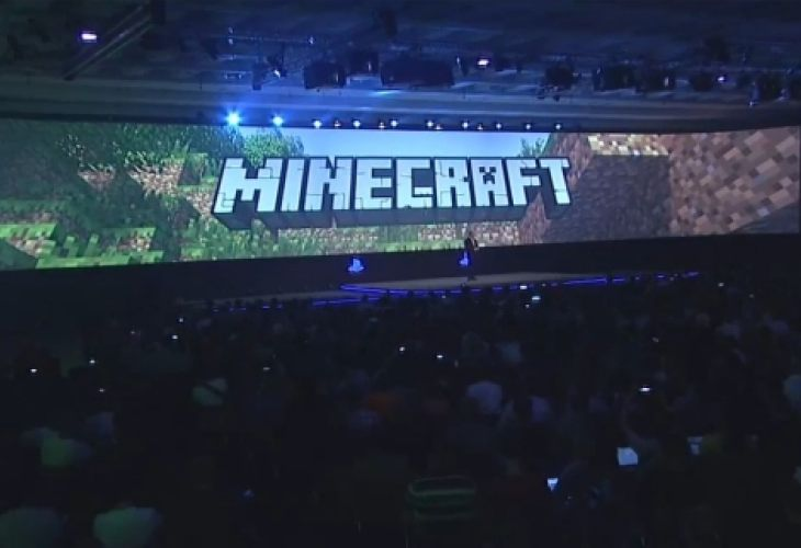 Minecraft On PS4 PS Vita Release Excitement Product
