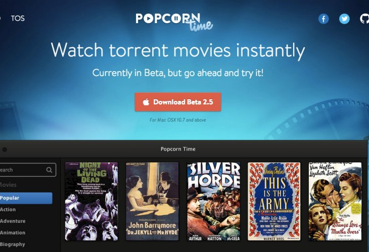 Popcorn Time App Download Asking For Trouble Product Reviews Net