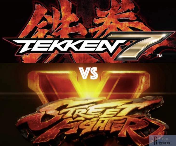 Tekken 7 Vs Street Fighter 5 For Best 2015 Fighter
