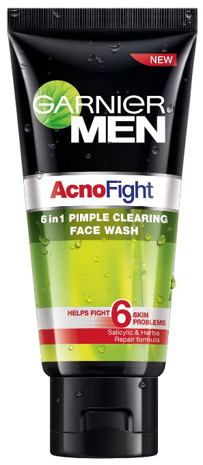 garnier acno fight face wash for men