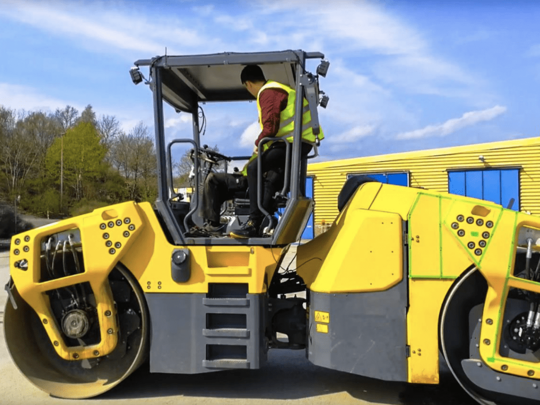 Autonomy on-demand! Autonomous testing of human-driven compaction roller