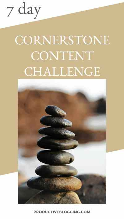 Then why not take my 7 day Cornerstone Content Challenge? 7 days to create one piece of killer cornerstone content and create a solid plan for the next steps… #freechallenge #freecourse #cornerstonecontent #cornerstonecontentchallenge #SEO #YoastSEO #bloggrowthhacks #productiveblogging