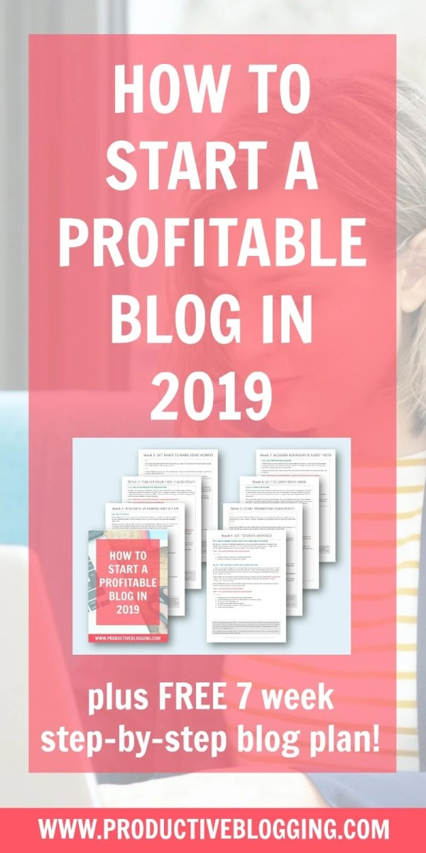 Want to start a profitable blog in 2019 but don't know where to start? Or maybe you already have a blog, but you still haven't made any money yet? In this post I show you the steps you need to take to go from zero to a profitable blog in 2019! #startablog #startablog2019 #profitableblog #makemoneyblogging #newblogger #bloggingnewbie #selfhosted #wordpressblog #siteground #newblog2019 #newyearnewblog #newyearsresolutions #blogplan #blogplanner #bloggingtips #productiveblogging #profitableblog2019