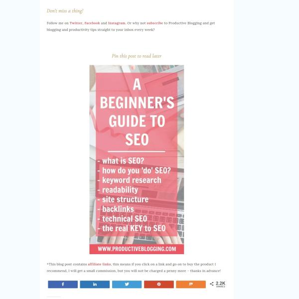 Beginner's guide to Pinterest for Bloggers