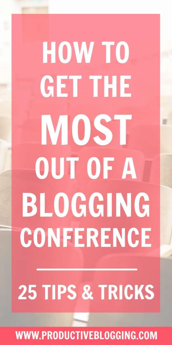 Blogging conferences are a great way to fast track your blogging skills, meet other bloggers and network with brands… but they can also be daunting – especially if it's your first blogging conference. Here's how to get the most out of a blogging conference… bloggingconference bloggingconferencetips #bloggingevent #bloggingmeetup #blogging #bloggers #bloggingtips #conferencetips #conference #bloggersconference #bloggersevent #bloggersmeetup #productiveblogginglive #productiveblogging