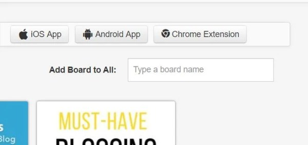 How to add a board to multiple pins in Tailwind