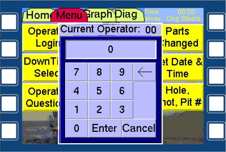 Drill Operator Login