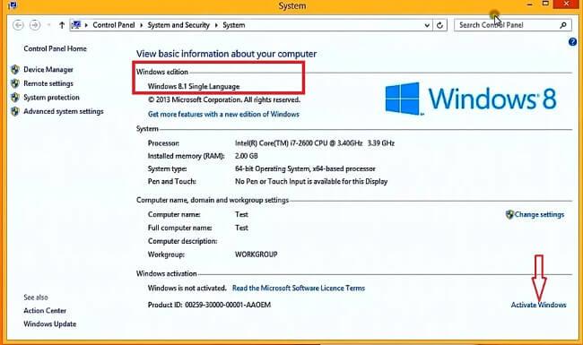 Windows 8 1 Product Keys 2019 Latest Working