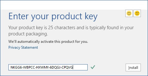 Microsoft Office 2016 Product Key Free 100 Working