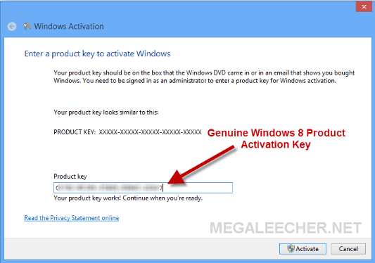 Windows 8 Product Keys 2019 For Free 100 Working