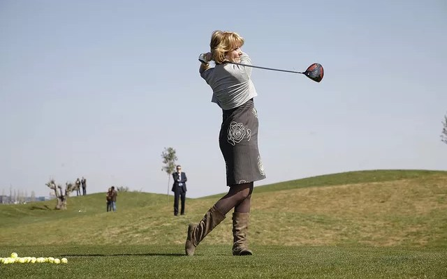 golf ¿uso agua recreativo?