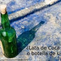 ¿Lata de Coca Cola o botella de sidra retornable?