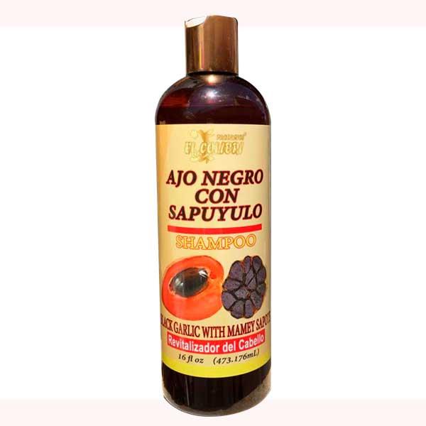Ajo-Negro con Sapuyulo ( Shampoo )