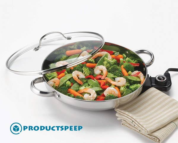 Aroma - Best Stainless Steel Electric Skillet