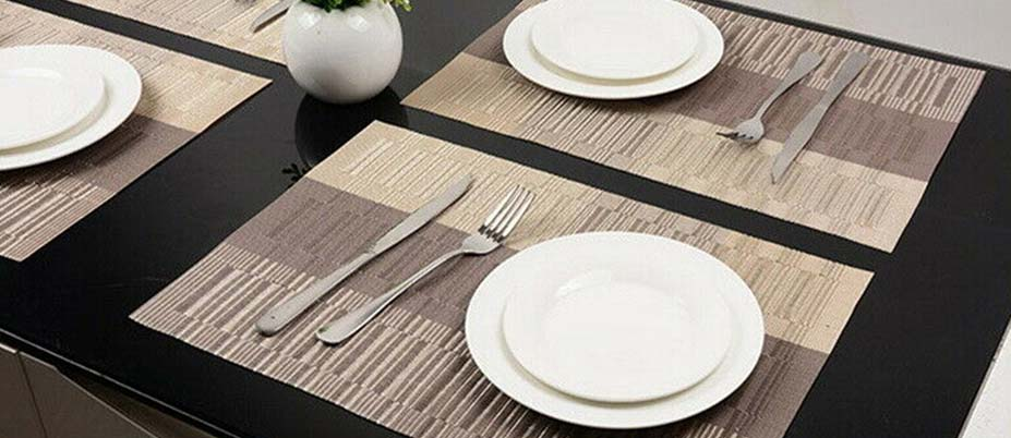 placemats for dining and kitchen tables