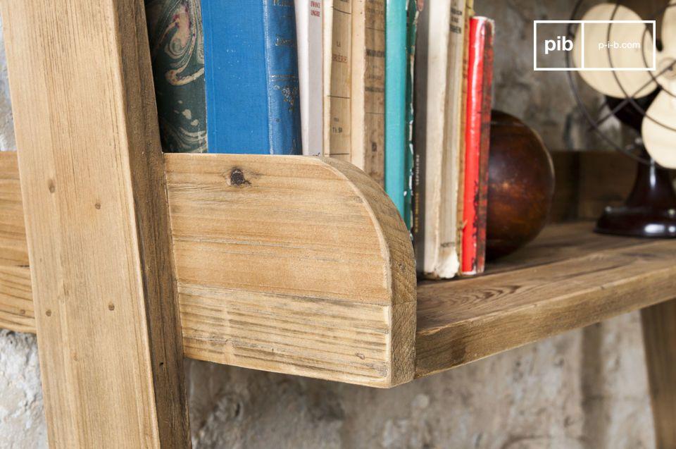 bibliotheque en bois grande echelle