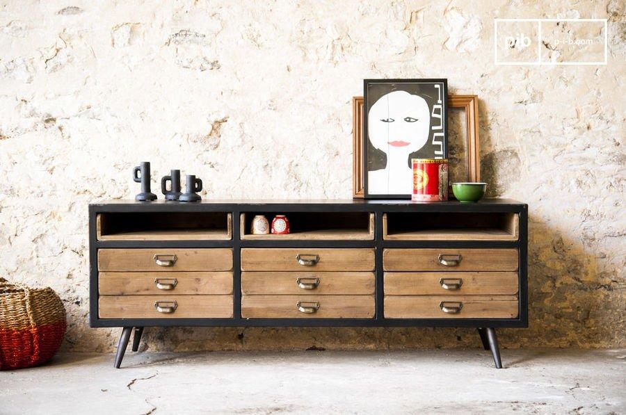 enfilade scandinave le meuble vintage