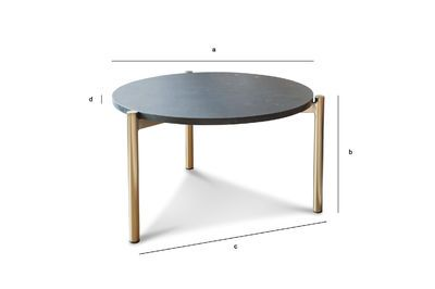 petite table basse en marbre anneli