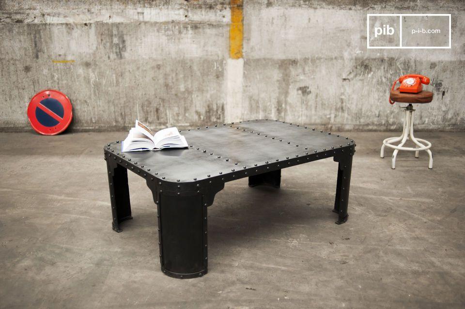 table basse industrielle brigor