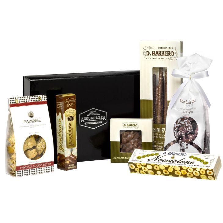 coffret cadeau toque de chocolat specialites italiennes au chocolat