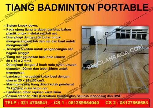 Produsen Tiang Badminton Murah