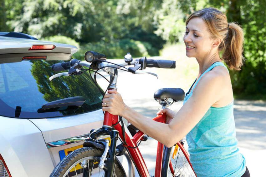 aufladen fahrrad