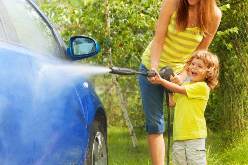 hochdruckreiniger auto reinigen