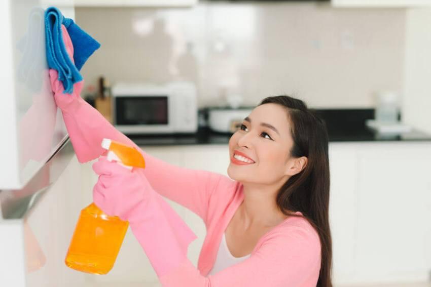 küche reinigen