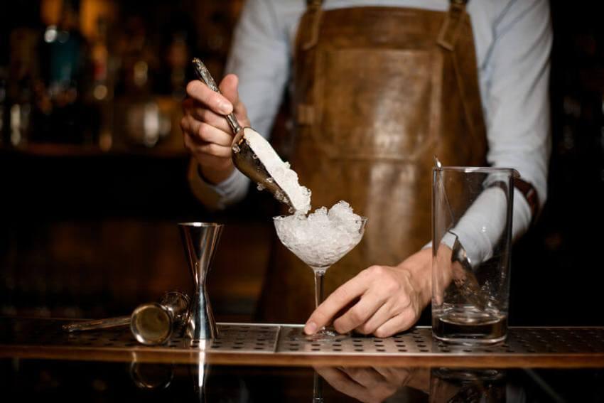 crushed ice barkeeper