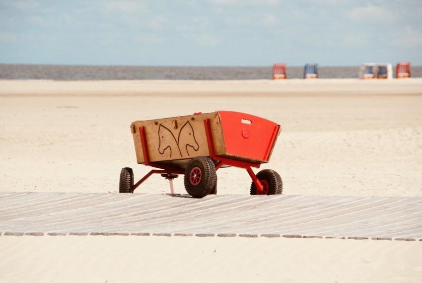 bollerwagen strand