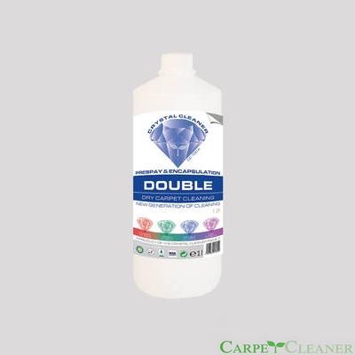 Crystal Cleaner Double 1l, płyn do kapsułkowania, mocny prespray do wykładzin