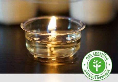 ekologiczne tealighty, tea-lighty