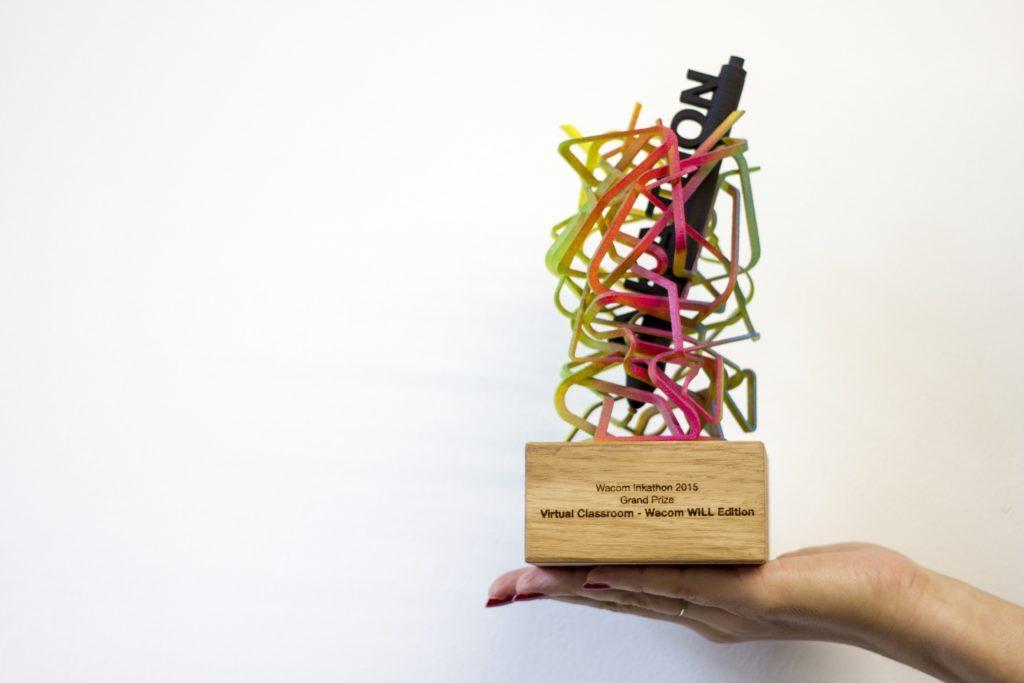 trofeus criativos: wacom