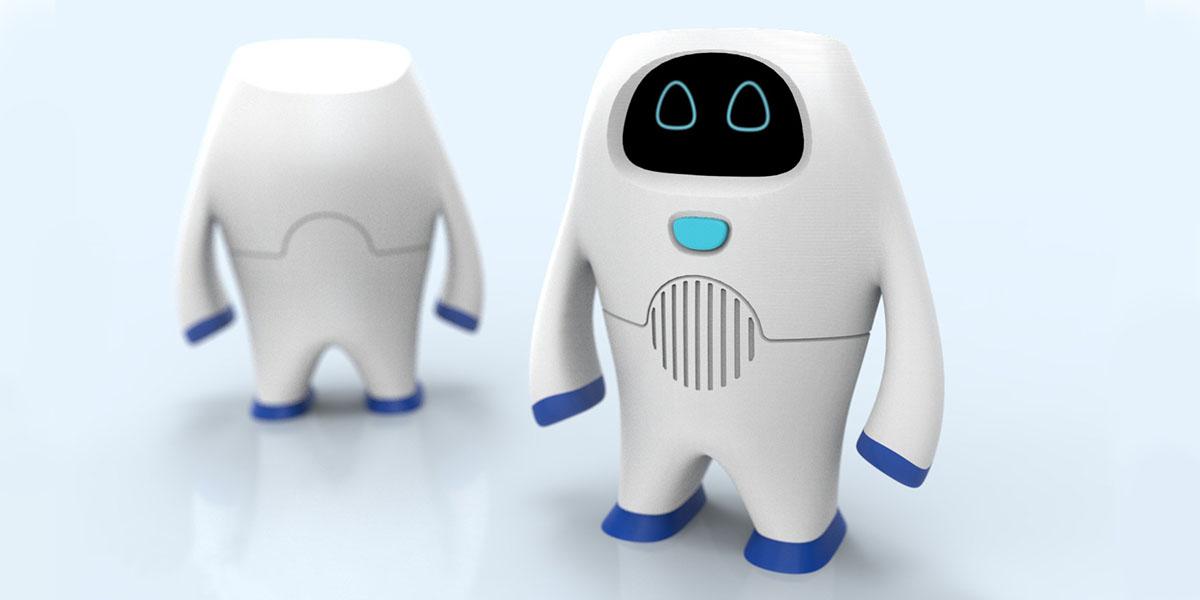 Robô Senai em impressão 3D