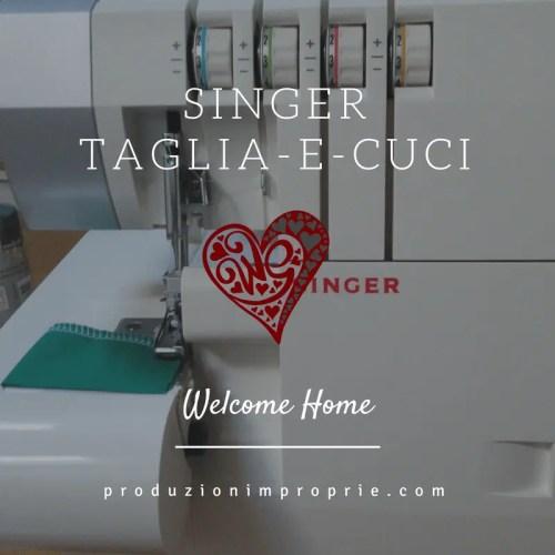taglia-e-cuci Singer 14SH754