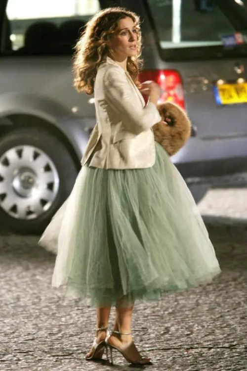 gonna di tulle Carrie Bradshaw