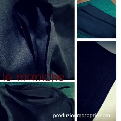 maniche della giacca circolare