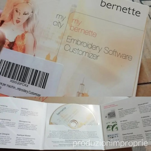 software bernette ricamo