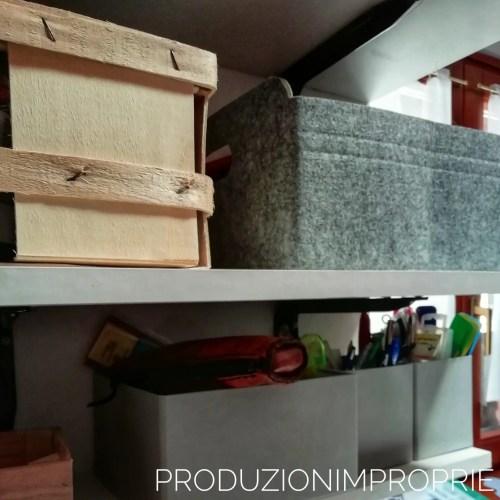 contenitori cucito e cancelleria